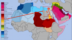 MapOfArabicDialects-Focus-on-Egyptian-Dialect